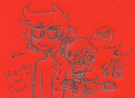 Havery and Lana B ghosts by Kittychan2005