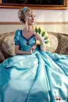 LADY OSCAR (anime ball gown) by KurimiMami