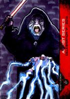 Darth Sidious sketch card 501st Legion CVI 2012 by geralddedios