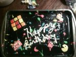80's Cake by Guitarherodev