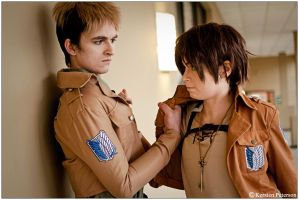 SnK: You're Pissing Me Off by CosplayerWithCamera
