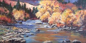 Creekside 24x48 by wscottfenton