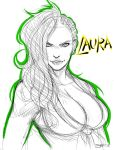 Laura Sketch by ItsJustSuppi