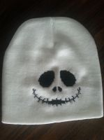Jack Skellington beanie by Sew-Madd
