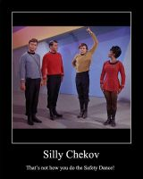 Silly Chekov... by mccoylover77