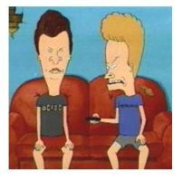 Beavis and butthead.... by antisocialgurl
