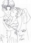 Trunks and Marron- A Brief's Wedding by trunkims