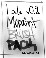 Loula Brush Pack for Mypaint : v0.2 by kaerhon