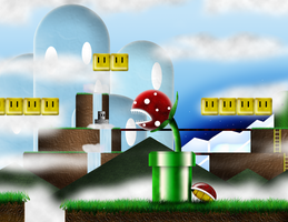 3D Super Mario World :) by NADesigns1221