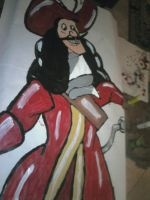 Captain Hook painted by Vetom