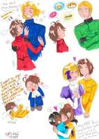 APH: RPing with some Xters... by Aonabi