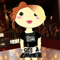 Hayley Williams Cartoon by rahrahmonster