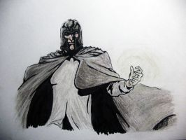 Magneto. soft pastel by LeeSergey