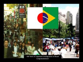 100 Years Japan-Brazil by SpiderIV