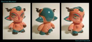 Satyr Munny Finish by Beastysakura