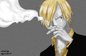 Sanji color splash by mayaxluffy