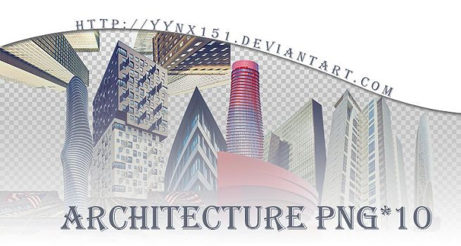 Architecture png pack #02 by yynx151