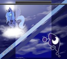 *Request* Princess Luna Youtube Background by Winter-218