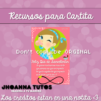 Recursos para Cartita Sanvalentin by JhoannaEditions