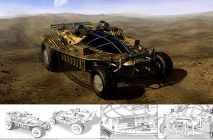 Assault buggy - final by Ron1649