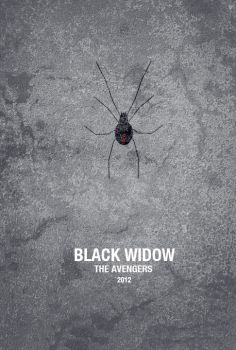 Black Widow - The Avengers by Al-Pennyworth