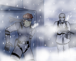 005 - Solid Snake by pocket-arsenal