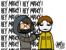 Toby and Masky GIF by EdwardElricKun