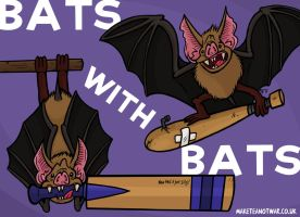 Bats with Bats by GagaMan