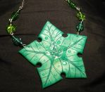 The Treestar - handmade Necklace by Ganjamira