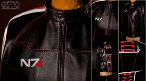 Mass Effect N7 Inspired Leather Jacket by gstqfashions