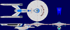 USS Ranger Multi-View by captshade
