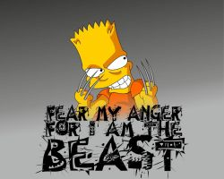 Bart - The Beast by drunk-n-crunk-punk
