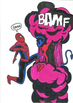 Bamf Spiderman by kn1978