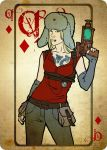 Queen of Diamonds by moon-pookah