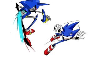 Sonic Boom Battle color by THopp