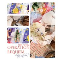 .OPERATION REQUIEM Artbook preview. by Hetiru