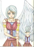 Crying Angel Finished by TROgirl