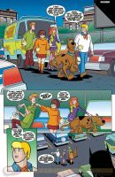Scooby Doo Team-Up pag 1 preview by DarioBrizuelaArtwork