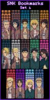 SNK bookmarks by MissFynd