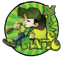 Mike Pinto T-Shirt Design by mrcartoon182