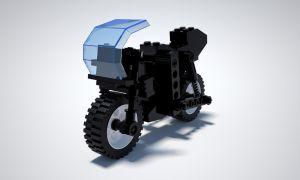 Lego GTX82 Black by undeathspawn