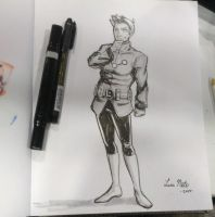 FanExpo - Commission Brainiac-5 by Spidersaiyan