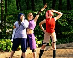 Naruto Girls- Here we go! by SkylitEyed
