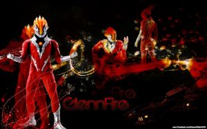 GlenFire of Ultraman The Movie by RPNagato
