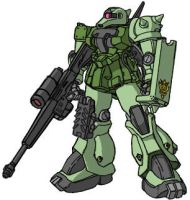 Zaku Sniper Standard Colors by RedZaku