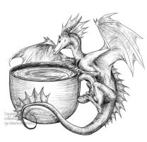 The CoffeeDragon by theCoffeeDragon