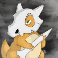 Cubone by Ginace