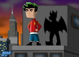 Jake Long in the City by MADt2