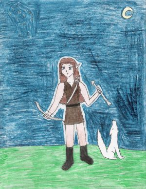 Greek Goddess-Artemis