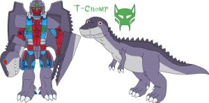 Dinobot T-Chomp by MCsaurus